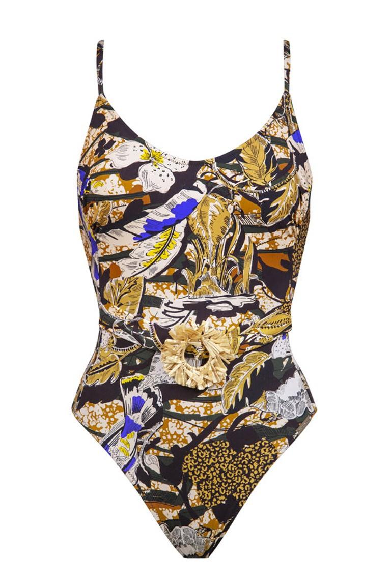 Swimsuit - Jungle camo
