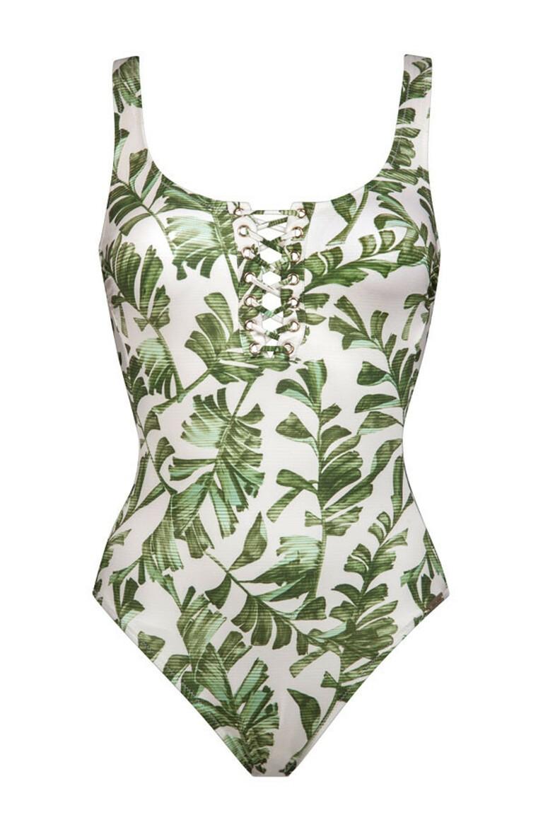 Swimsuit - leafy breeze